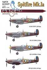 EagleCals Decals 1/48 SUPERMARINE SPITFIRE Mk.Ia British Fighter