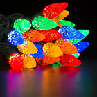 10M 50LEDs C9 Strawberry Xmas Festive Multi-Colour String Lights Connectable