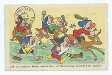 CPA - Carte Postale - WALT DISNEY - Edition Superluxe  Blanche Neige  N°24