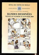 CATALOGUE VENTE BD ENCHERES  AGUTTES 15/01/2000  couverture MANARA