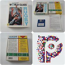 Clase Mundial Rugby un juego para Commodore Amiga otogénica probado y de trabajo