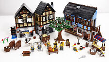 NEW Lego Medieval Market Village 10193 Factory Sealed In Mint Box Fast Shipping