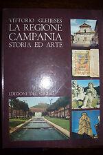 La regione Campania - storia ed arte di Vittorio Gleijeses 3° ed Del Giglio 1979