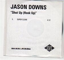 (EC575) Jason Downs, Shut Up (Hook Up) - DJ CD