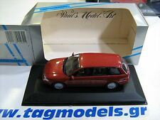 MINICHAMPS 1:43 AUDI A4 AVANT 1995 RED METALLIC BRAND NEW -BOXED