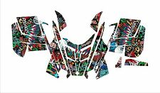POLARIS GRAPHIC RUSH PRO RMK 600 700 800 ASSAULT 121 144 155 163  grafitti WRAP