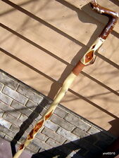 XX-Large Hefty DIAMOND WILLOW walking stick Paul Bunyan collector/parade CANE