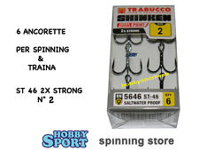 ANCORETTE OWNER TRABUCCO 5646  SERIE ST 46  N  2   INOX  CONF 6 PZ 2X STRONG