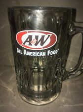 A & W root beer Bear glass All American Food Mug ADVERTISING SIGN soda pop