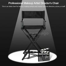 Flexible Makeup Artist Director's Chair Folding Studio Chair Aluminum Frame N6S7