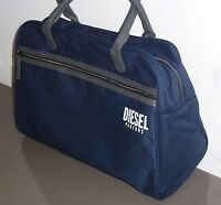 DIESEL ONLY THE BRAVE HOLDALL DUFFLE WEEKEND GYM TRAVEL BAG MEN'S DARK NAVY NEW.
