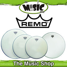 """Remo Drum Head Pack - Emperor Coated Rock Skins 12"""" 13"""" 16"""" + 14"""" Amb PP-1010-BE"""