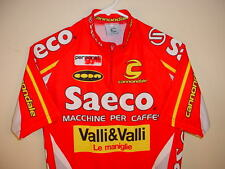 CANNONDALE TEAM SAECO CYCLING JERSEY SIZE MENS SMALL/MEDIUM