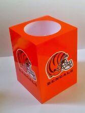 Cincinnati Bengals Vela sin llama casco equipo de NFL