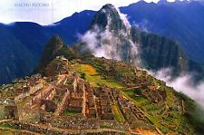 Kingdom Of The Incas Ruins Machu Picchu Scenic Myst Heavenly Poster Art Print