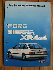 Original Ford Sierra 4 X4 Manual De Taller Suplemento