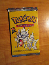 1x Pokemon BASE-2 Set Booster Card Pack GYARADOS Box Art Wizard of The Coast TCG