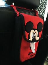 Mickey Mouse Car Accessory #E : Red,Black Hanging Tissue Box Cover