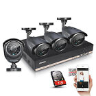 ANNKE 8CH HD 1080N CCTV DVR 1.3MP Outdoor IR Home Surveillance Camera System 1TB