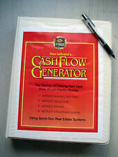 Cash Flow Generator, Ron LeGrand, 1 VHS Tape, 4 Cassette Tapes-SEE CONTENT BELOW