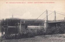 SAUMUR 156 GENNE SAINT-EUSEBE et le pont des rosiers