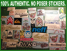 15 Stickers/Decals Pack/Lot JDM Skate Skateboard Snowboard Bomb Luggage (15Lug)