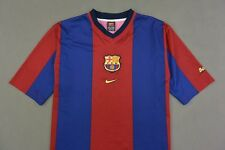 BARCA 1998-2000 nike FC Barcelona Home Basic Shirt SIZE L (adults)