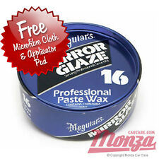 Meguiars Professional 16 Paste Car / Motorbike Wax **FREE CLOTH & APP PAD**