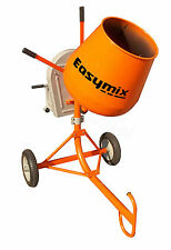 Brand New EASYMIX 3.6 CFT Conctractors Concrete Mixer - Electric Motor - EM36