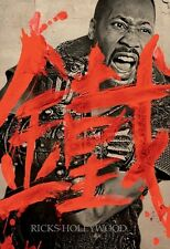 Original MAN WITH THE IRON FISTS Tarantino RZA Martial Arts WILDING POSTER