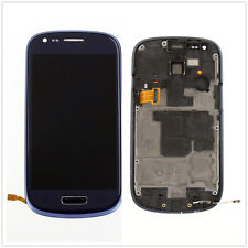 LCD Touch Screen Glass Panel Digitizer & frame For Samsung Galaxy S3 Mini i8190