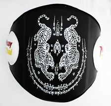 Tiger Belly Pad Guard MMA Martial Art MuayThai Boxing Training Protector Ab Gear