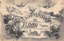 CPA 80 SOUVENIR DE BRAY SUR SOMME