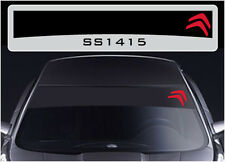 SS1415 Citroen sun strip graphics stickers decals sunstrip C1 C2 C3 DS3 C4