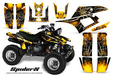 YAMAHA WARRIOR 350 GRAPHICS KIT CREATORX DECALS STICKERS SPIDERX Y