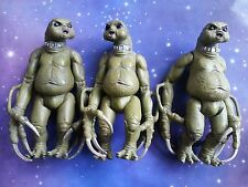 "DR WHO 3 x SLITHEEN GREEN FARTING ALIENS OF LONDON 5"" NEW SERIES FIGURES LOT"