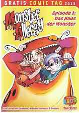 Comic - Vom Gratis Comic Tag 2013 - Monster Allergy -  deutsch