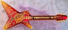Hard Rock Cafe BANGKOK 1996 5th Anniversary PIN Flaming Destroyer Guitar #977
