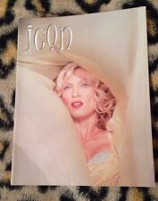 "Madonna ""icon"" official fan club magazine no 38 From 2002 Very Rare Queen Of Pop"