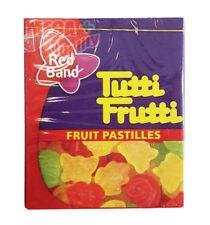 Red Band Tutti Frutti FRUIT PASTILLES Gelatin Dessert Fruit Pastilles 15g