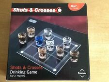 Shots And Crosses Drinking Game For 2 Players