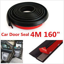 4M Z-shape Car SUV Truck Door Window Rubber Seal Strip Weatherstrip Seals Hollow