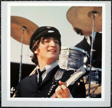 THE BEATLES POSTER PAGE . 1965 US CONCERT JOHN LENNON . H63