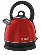 RUSSELL HOBBS 1.8L WESTMINSTER DOME KETTLE IN RED - 19192