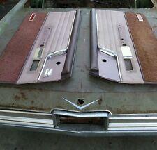 1963 Cadillac 2 door hardtop  Door Panels  (set)