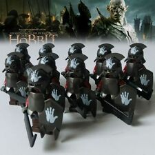 10pcs The Lord of the Rings Mordor ORCS Hobbit Minifigures Building Blocks Toys