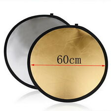 5in1 80cm 60cm Photography Studio Light Mulit Collapsible disc Reflector UL