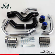 Intercooler Piping PIPE Kit for 2002-2006 Audi A4 1.8T Turbo B6 Quattro BLACK