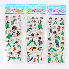 10 x BEN 10  Sticker strips for Party Bag Fillers Birthday,  party favours