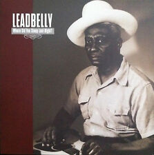 LEADBELLY Where Did You Sleep Last Night? GOLDENLANE RECORDS Sealed Vinyl LP
